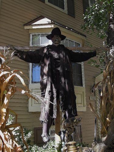 Halloween scarecrow HF member