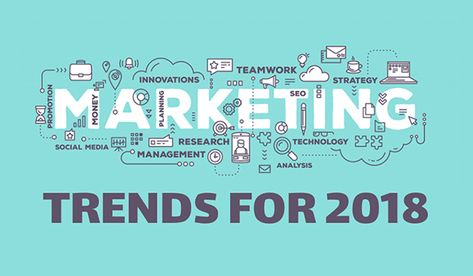 5 Marketing Trends That Should Shape Your 2018 Strategy - Red Infographics