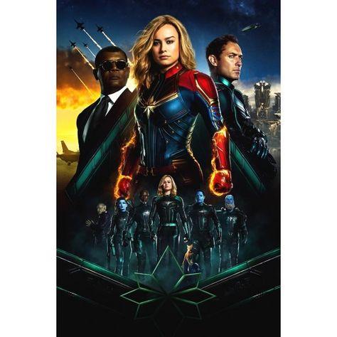 Captain Marvel Movie Film Poster