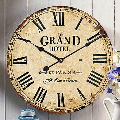 Modern #Wall #Clocks Australia - Antiquite Square Wall Clock \