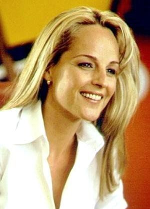 Helen Hunt love the color of her hair in