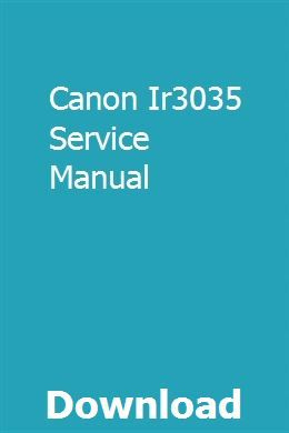 Canon Ir3035 Service Manual Manual Inspirational Books Used
