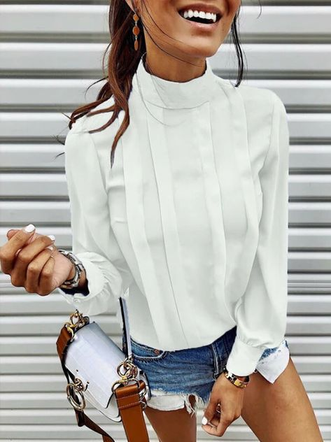 2019 New Autumn Women blusas mujer de moda Chiffon Ruffer Shirt Ladie – Jartini blouses shirts style blouses designs blouses for women casual women tops shirt blouse#shirts#sweatheart#croptop#shirtdesigh#fashion