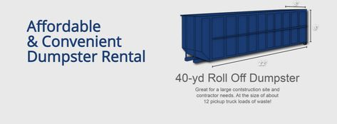 Bargain Dumpster Orlando Offers Multiple Size Dumpster Rentals For Any Job Large Or Small Whether You Need A Roll Off Contain Dumpster Rental Dumpster Rental