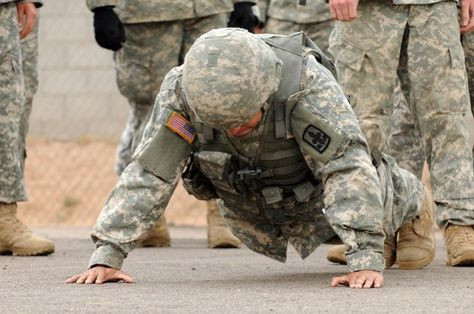Prepare Yourself for Basic Training With a Complete Military Workout