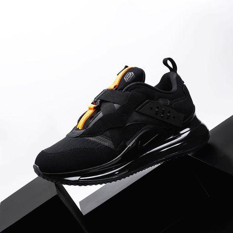 "estilo atractivo elegir oficial reloj The Nike Air Max 720 OBJ Slip ""Team Orange"" dips in black ..."