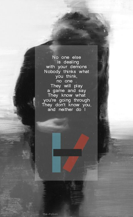 twenty one pilots lyrics kitchen sink - Google Search | Lyric Art ...