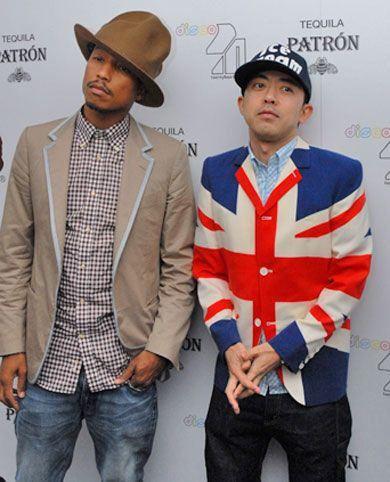 Pharrell Williams DJ Nigo の画像をもっと見る?