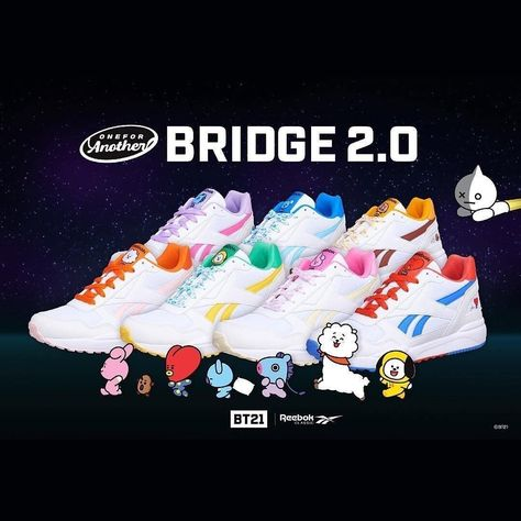 Reebok X BT21 Royal Bridge 2.0 Koya