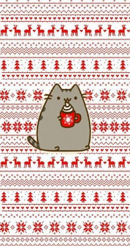 Christmas Wallpaper Cat 68 Ideas Cat Phone Wallpaper Wallpaper Iphone Christmas Iphone Wallpaper Winter