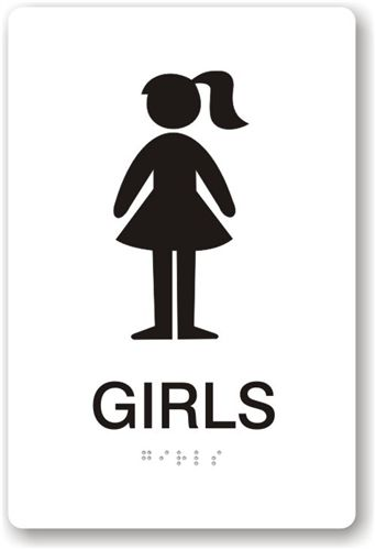 Free Girls Bathroom Sign Download Free Clip Art Free Clip Art On