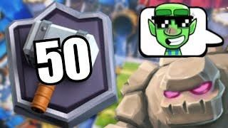 Top 50 Global Tv Royale Fail Ladder Push Mit Golem Deck Clash Royale Deutsch Clash Royale Deck Clash Royale Mario Characters