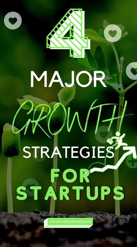 4 Major Growth Strategies for Startups and Small Businesses