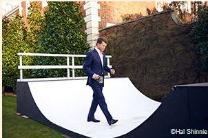 The diplomat who has brought informal parties, skateboard ramps and turntables to the 'special relationship'