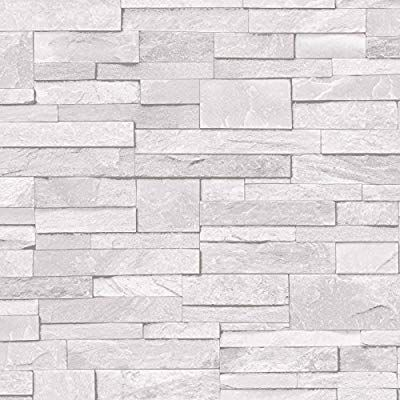 Pin By Areena On Stuff To Buy Brick Effect Wallpaper Vinyl Stone Slate Stone