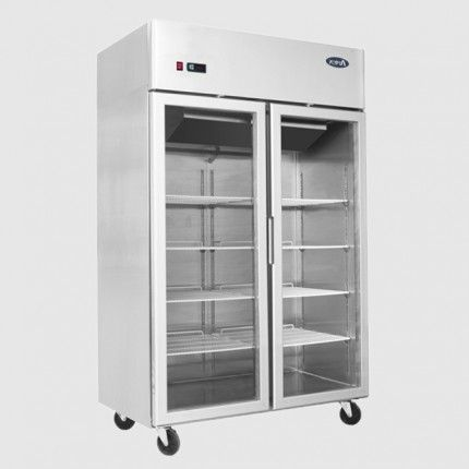 Atosa Ycf9408gr Double Glass Doors Upright Freezer Double Glass