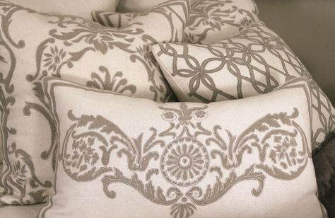 Luxus Cuscini.Basketweave With Natural Decorative Pillows Moodshot Cuscini
