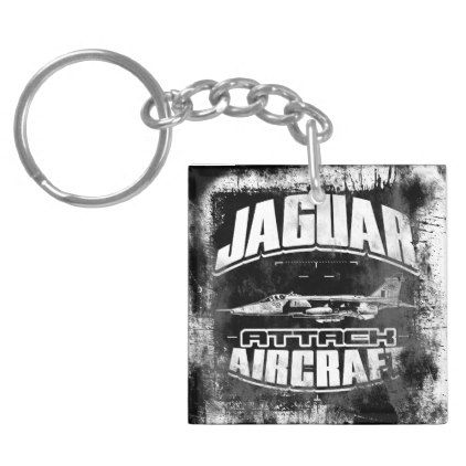Jaguar Square (double-sided) Acrylic Keychain   accessories