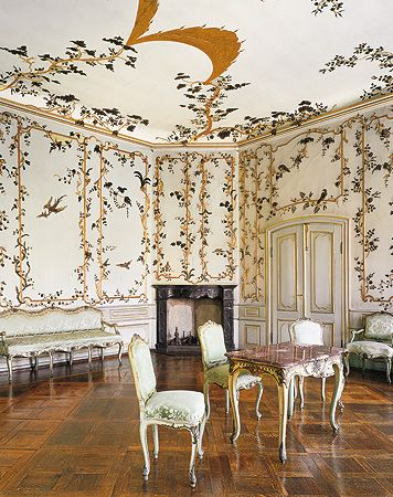 Neues Schloss Bayreuth Japanisches Zimmer Deutsche Burgen - esszimmer ansbach