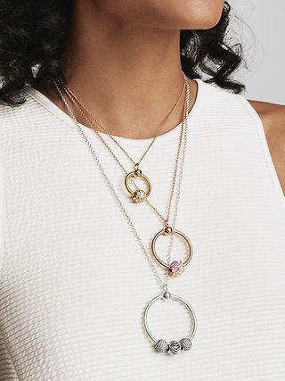 Pandora O Pendant Christmas Charm Holder Ring Pandora Us In 2020 Pandora Necklace Pandora Jewelry Pandora Bracelets