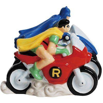 Salt & Pepper Shakers Set DC Comic Batman - Robin.