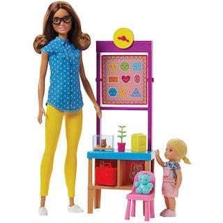 Barbie Teacher Playset Barbie Toys Barbie Playsets Barbie Dolls
