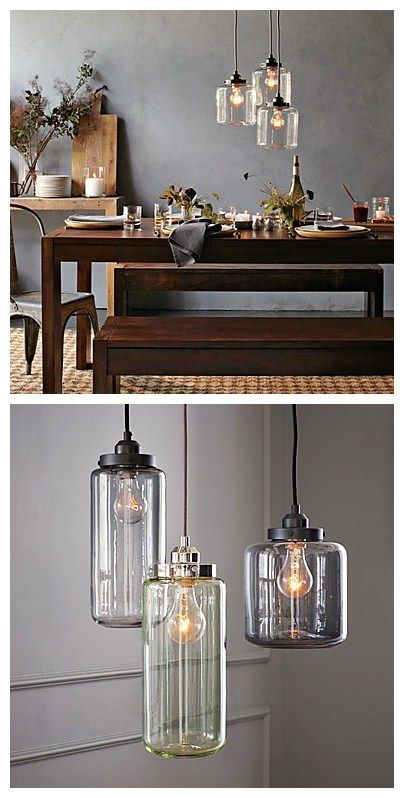Simple Light Fixtures. Iu0027d Love These In The Kitchen Over An  Island/breakfast Bar | House | Pinterest | Lights, Kitchens And Breakfast  Bars