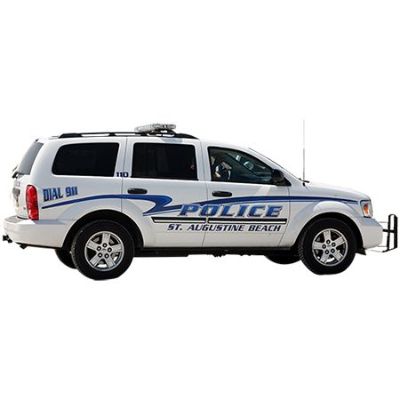 A Cutout Photo Of A Florida Police Car Taken From A Side View Police Cars Police Car