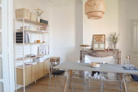 Bienvenue Dans L Appartement Hygge De Studio Aime A Toulouse Hello Blogzine En 2020 Appartement Deco Salle A Manger Meuble Bas
