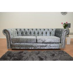 Appleby In Westmorland 3 Seater Chesterfield Sofa Sofa Chesterfield Sofa Bed Fabric Sofa