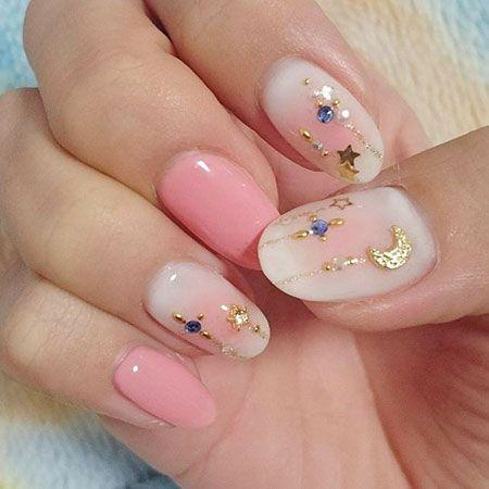 Korean Nail Design Nail Designs Art Manicure Cute Floral Nails Nail Cute Nails Great Nail Designs Nail Art Designs Nails Inspiration