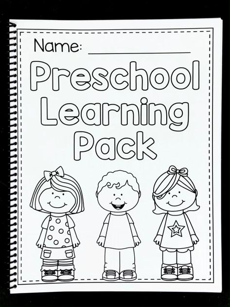 Math and literacy worksheets for preschool and pre-k students. There are activities for numbers, counting, the alphabet, beginning sounds, shapes, colors and so much more!