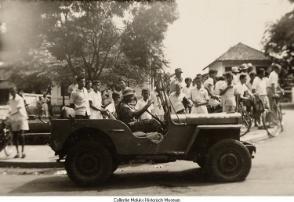 Apra Actie Van Westerling Belanda Perang Jeep