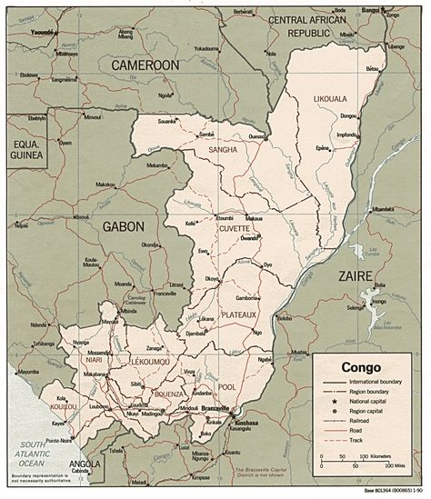 Nice Map Of Congo Republic Of The Travelsmaps Pinterest - democratic republic of the clickable map