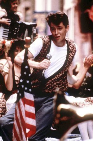 Pop culture: Who wants to go to Ferris Fest? Anyone? Anyone? Bueller?