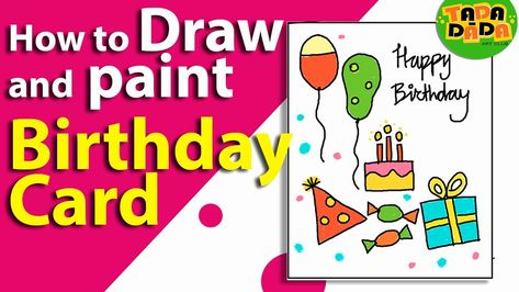 Super Birthday Card For Kids Beautiful How To Make An Easy Birthday Card Personalised Birthday Cards Veneteletsinfo