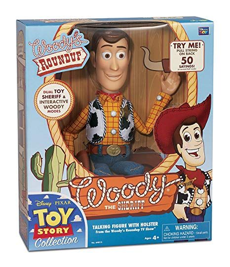 Thinkway Signature Collection Toy Story Sheriff Woody DELUXE Movie Replica NEW!