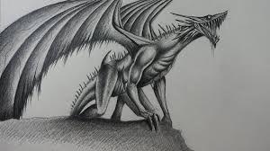 Dibujos De Dragones A Lapiz Buscar Con Google Dragon Realista Dragones Dibujo De Dragon