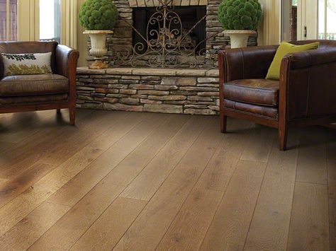 Hardwood Castlewood Oak - SW485 - Trestle - Flooring by Shaw