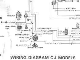 1974 Jeep Cj5 Wiring Diagram Database