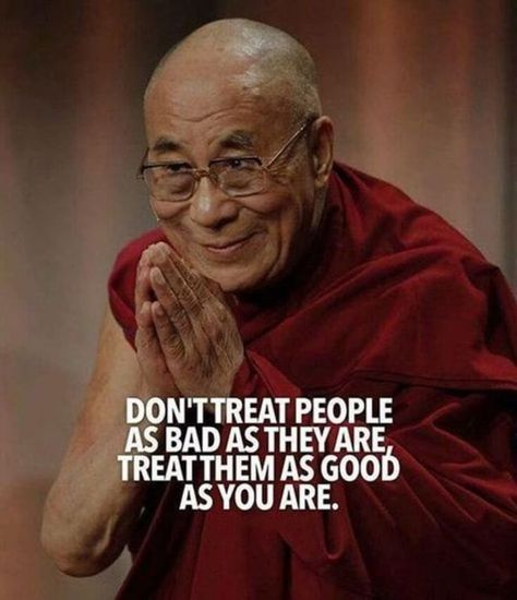 Don't treat people as bad as they are, treat them as good as you are! | #1stInHealth #Motivation #Quotes #Inspiration #Success