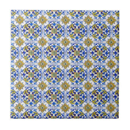 Seamless Traditional Portuguese Azulejo Pattern Ceramic Tile Tap Click To Get Yours Right Now Ceramictile Azu Ceramic Tiles Decorative Ceramic Tile Tiles
