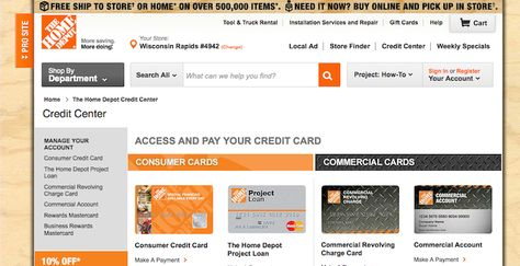 Home depot credit card login login archives pinterest reheart Gallery