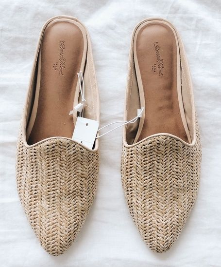 92224a0699615 Saturday Target finds 🌿✨| woven shoes, slides, spring shoes, budget flats