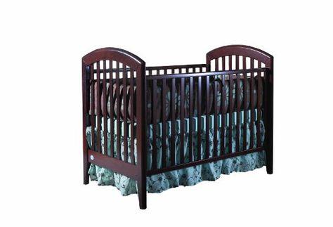 Pali Gala Fixed Sides Crib, Mocacchino