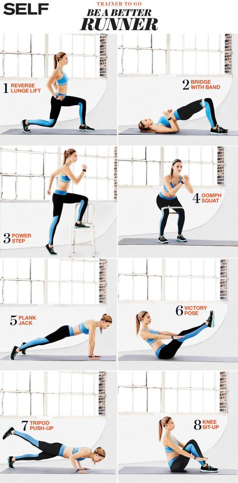 Strength training moves to improve your run