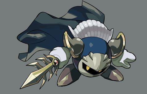 ほしのかけらをおいてけ~ by DENIM2 (Meta Knight) #Kirby #Nintendo #fanart