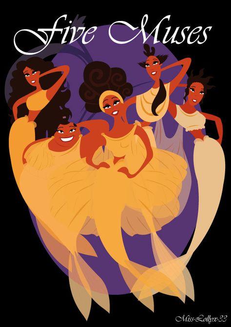 Damas Disney XII: As damas gregas!