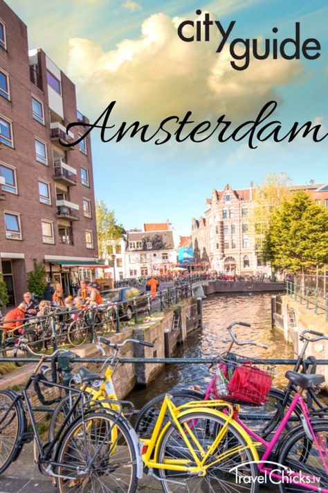 City Guide to Amsterdam - top things to see and places to eat. Plus safe lodging for girls in Amsterdam, Netherlands  #europe