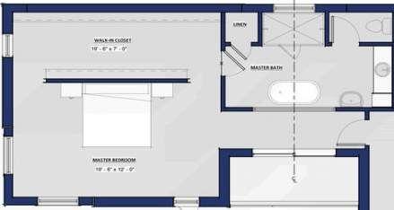 68 Ideas Walk In Closet Behind Bed Master Suite Dressing Rooms Closet Closet Behind Bed Master Suite Floor Plan Bedding Master Bedroom